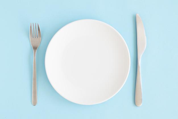 dieta milagro plato vacio