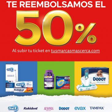 Obtén un 50% en las mejores marcas de Farmacia Jon Uriarte