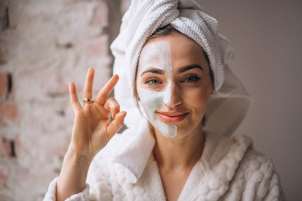 Proteger la piel con mascarilla